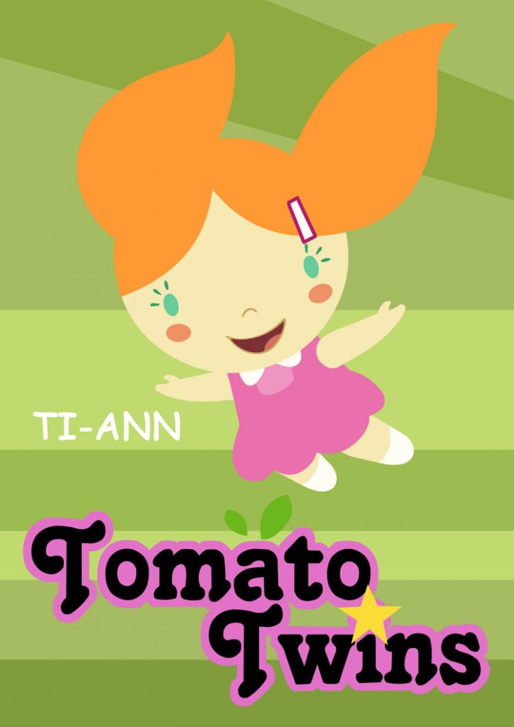 This image has an empty alt attribute; its file name is TomatoTwins_Poster_Ti-ann-724x1024.jpg